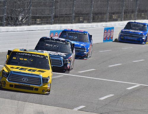 Coughlin Picking Up Steam in NASCAR Camping World Truck Series