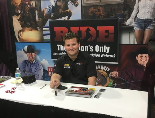 Coughlin Ready to Rope 'Em & Ride a Bull with RIDE TV in Texas