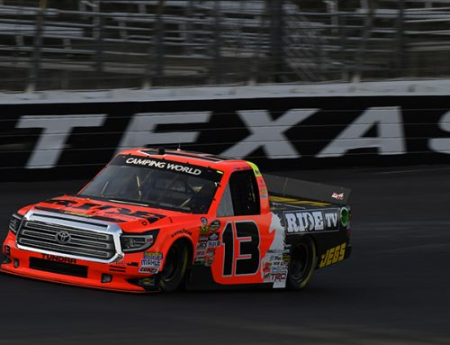 Coughlin Picks Up NASCAR Stage Points in Texas