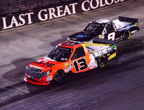 Coughlin Fights Off Other Drivers at Last Great Colosseum
