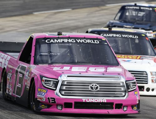 Coughlin Fights Hard Through Difficult Conditions at Martinsville