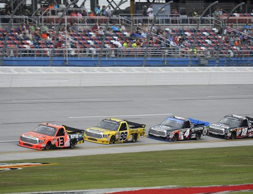 Coughlin Leads the Way at Talladega Superspeedway