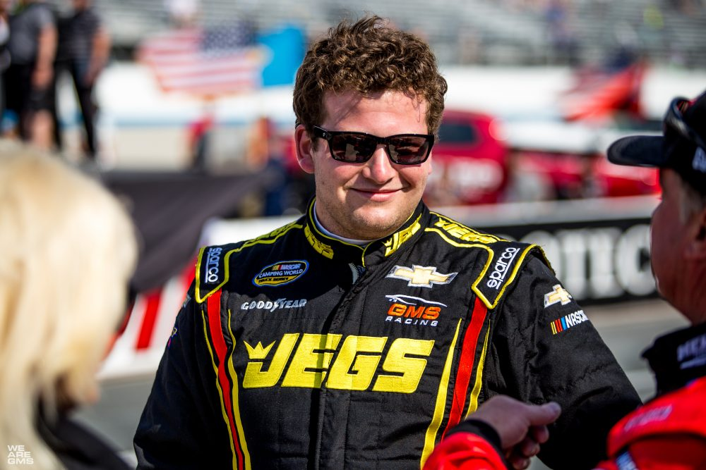 CODY COUGHLIN LOOKS TO CARRY MOMENTUM INTO THE KANSAS SPEEDWAY